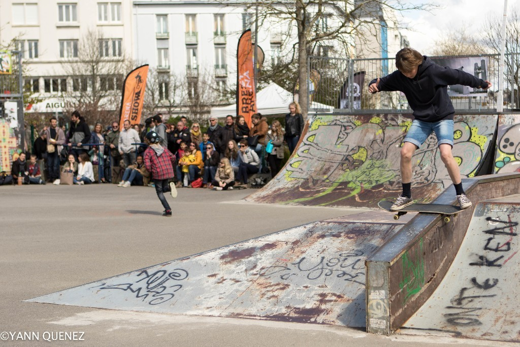 Brest le projet de r novation du skatepark kennedy en for Jardin kennedy brest